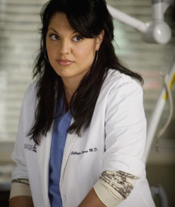 A picture of the character Callie Torres - Years: 2006, 2007, 2008, 2009, 2010, 2011, 2012, 2013, 2014, 2015, 2016