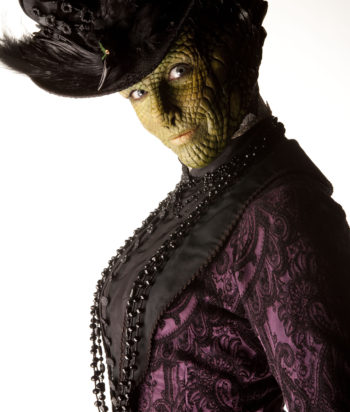 A picture of the character Madame Vastra