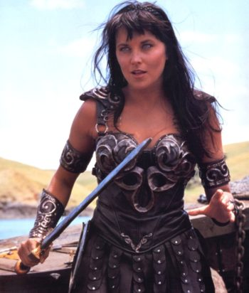 A picture of the character Xena - Years: 1995, 1996, 1997, 1998, 1999, 2000, 2001