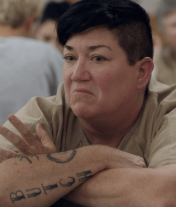 "A picture of the character Carrie ""Big Boo"" Black"