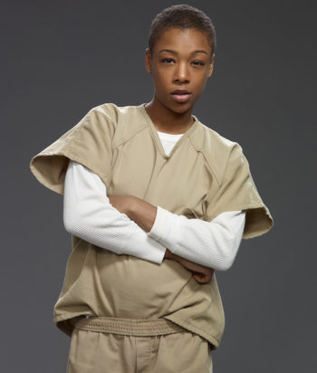 A picture of the character Poussey Washington
