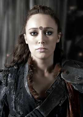 A picture of the character Lexa