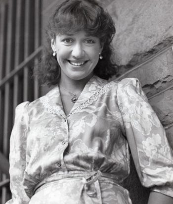 A picture of the character Sharon Gilmour - Years: 1980