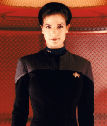 A picture of the character Jadzia Dax