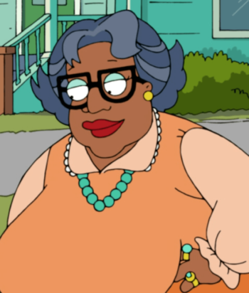 A picture of the character Auntie Momma - Years: 2009, 2011, 2012, 2013