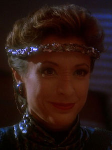 A picture of the character Kira Nerys (Mirror)