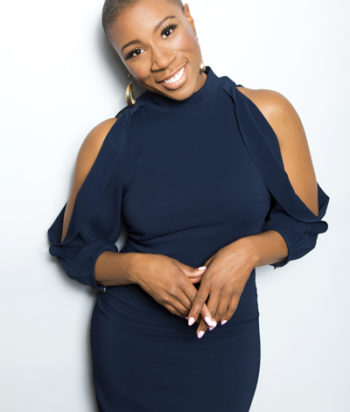 A picture of the actor Aisha Hinds