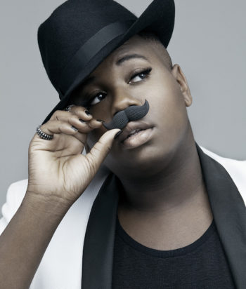 A picture of the actor Alex Newell