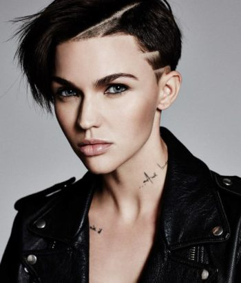A picture of the actor Ruby Rose