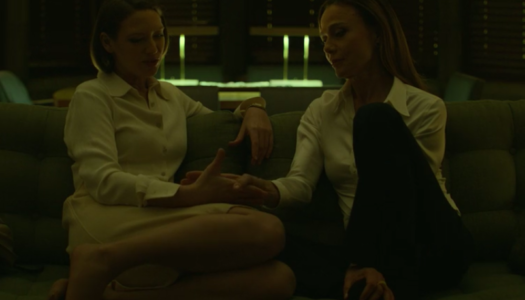 Mindhunters - Anna Torv and Lena Olin
