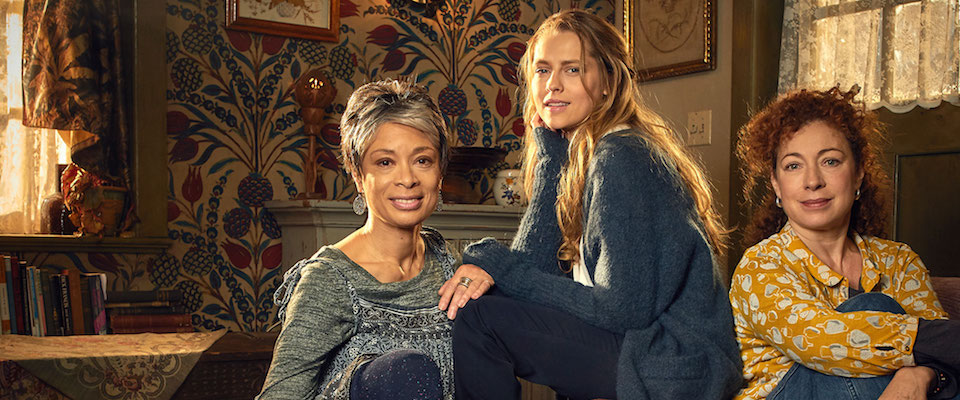 Coming Soon (UK Edition): Lesbian Land Owners, Witches, and Alex Kingston