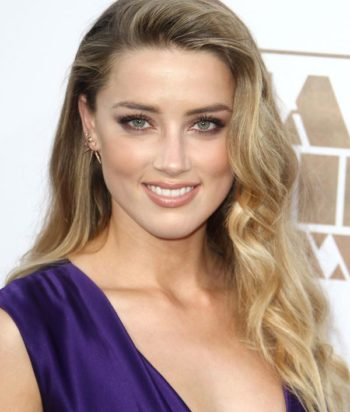 A picture of the actor Amber Heard