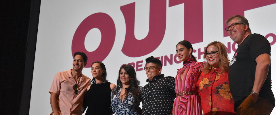 The cast of Vida at Outfest