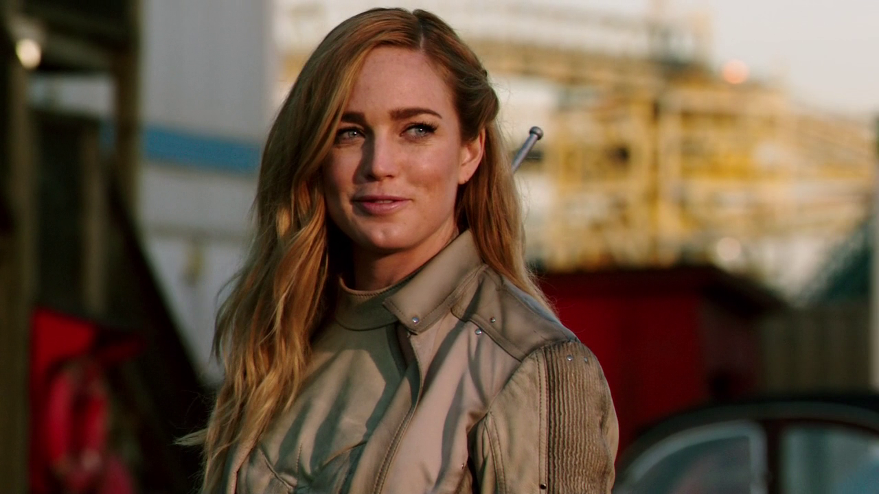 Bisexual Characters - Sara Lance played by Caity Lotz on Legends of Tomorrow