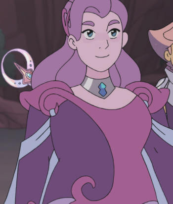 A picture of the character Spinnerella