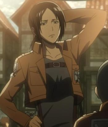 A picture of the character Ymir
