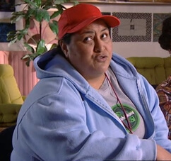 A picture of the character Lesley Tangaroa