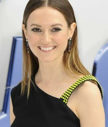 A picture of the actor Lydia Wilson
