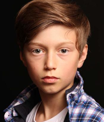 A picture of the actor Callum Booth-Ford