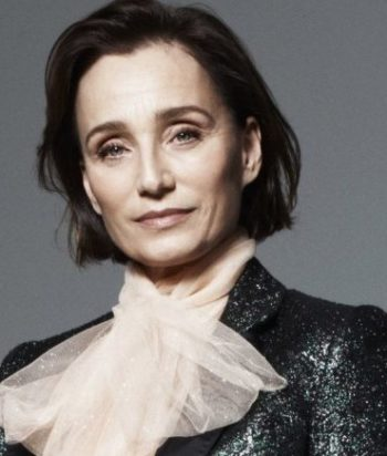 A picture of the actor Kristin Scott Thomas