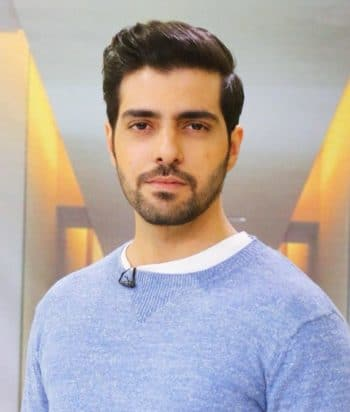 A picture of the actor Furqan Qureshi