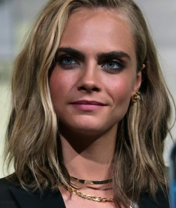 A picture of the actor Cara Delevingne
