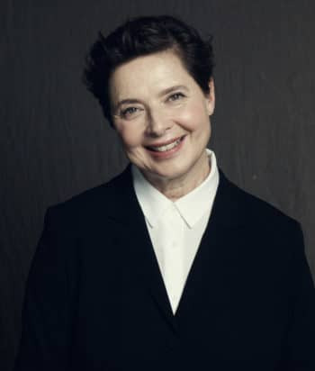 A picture of the actor Isabella Rossellini