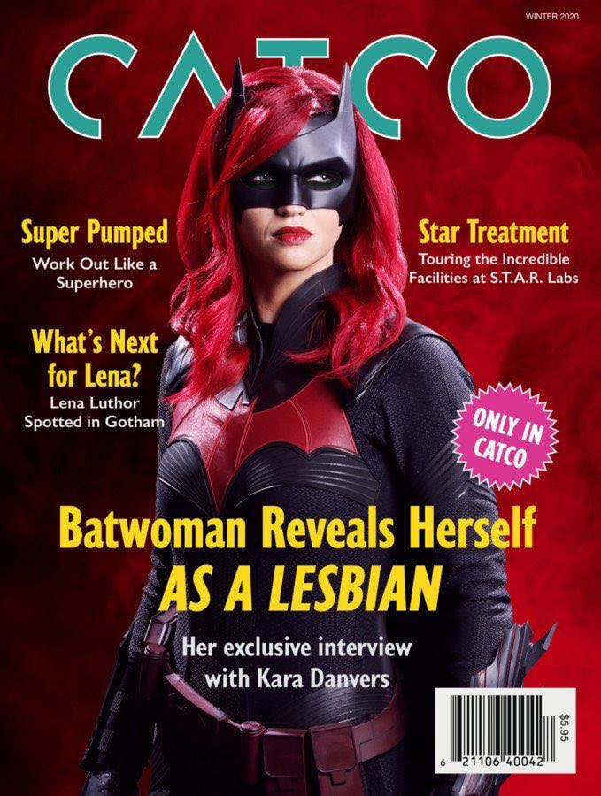 Batwoman reveals herself as a lesbian