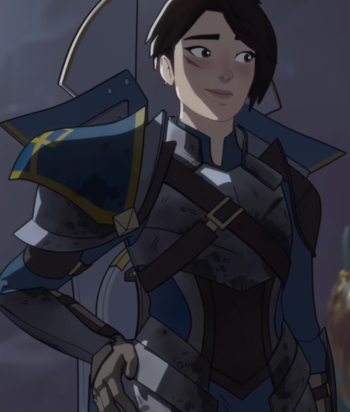A picture of the character Amaya