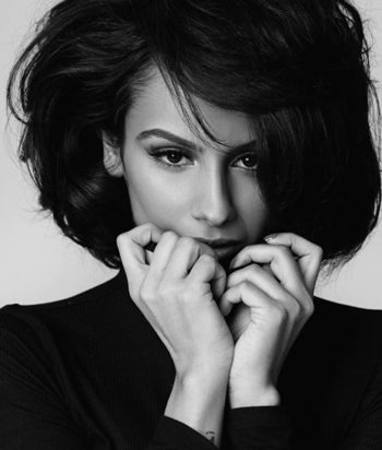 A picture of the actor Nazanin Mandi