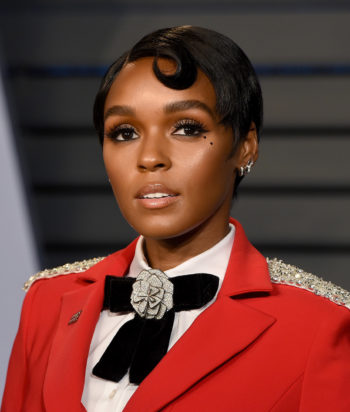 A picture of the actor Janelle Monae © BEVERLY HILLS, CA - MARCH 04:  Janelle Monae attends the 2018 Vanity Fair Oscar Party Hosted By Radhika Jones - Arrivals at Wallis Annenberg Center for the Performing Arts on March 4, 2018 in Beverly Hills, California.  (Photo by Presley Ann/Patrick McMullan via Getty Images)