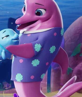 A picture of the character Dolphin Mom #1