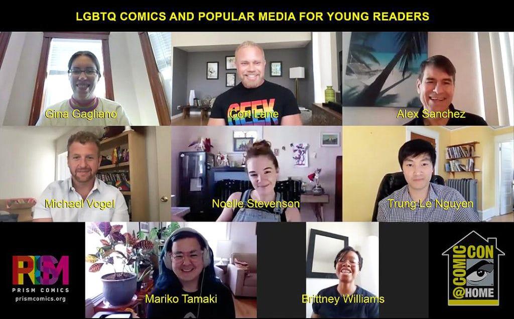 Content For The Children — ComicCon@Home 2020