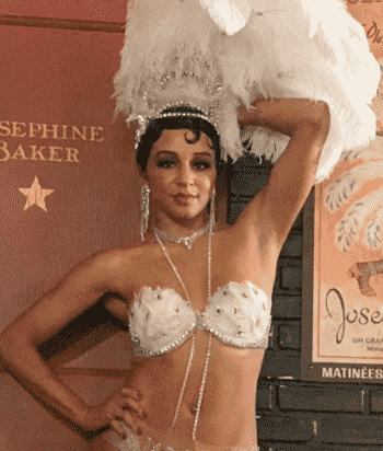 A picture of the character Josephine Baker